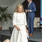 NLD/Den Haag/20190528 - Maxima bij Platform Wijzer in Geldzaken, Koningin Maxima