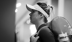 May 14, 2019 - Rome, ITALY - Elina Svitolina of the Ukraine on the way to the court for her second-round match at the 2019 Internazionali BNL d'Italia WTA Premier 5 tennis tournament (Credit Image: © AFP7 via ZUMA Wire)