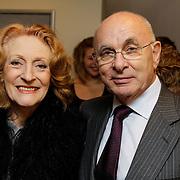 NLD/Leiden/20121021- Premiere Contrapunt, Michael van Praag en Gerrie van der Kleij