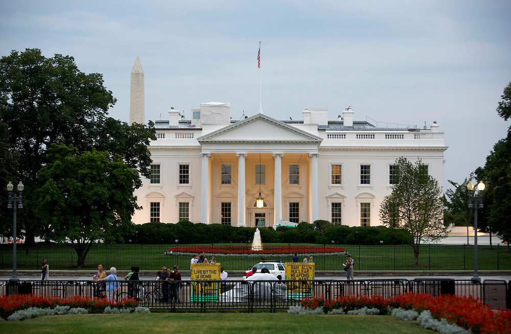 UNITED STATES-WASHINGTON DC-The White House. PHOTO: GERRIT DE HEUS..VERENIGDE STATEN-WASHINGTON DC-Het Witte Huis. PHOTO GERRIT DE HEUS