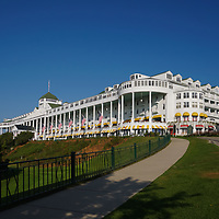 """""""Grand Hotel Mackinac Island 2""""<br /> <br /> Enjoy the timeless beauty of the historic Grand Hotel on Mackinac Island, Michigan on a beautiful summer day!"""
