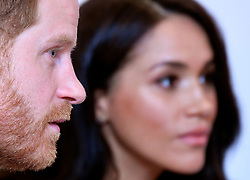 The Duke and Duchess of Sussex during the annual WellChild Awards at the Royal Lancaster Hotel, London.