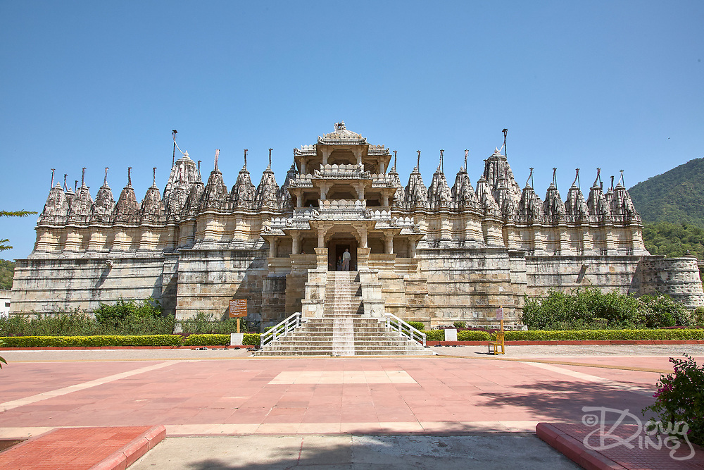 The magnificent Jain Temple at Ranakpur, near the city of Udaipur in Rajasthan India
