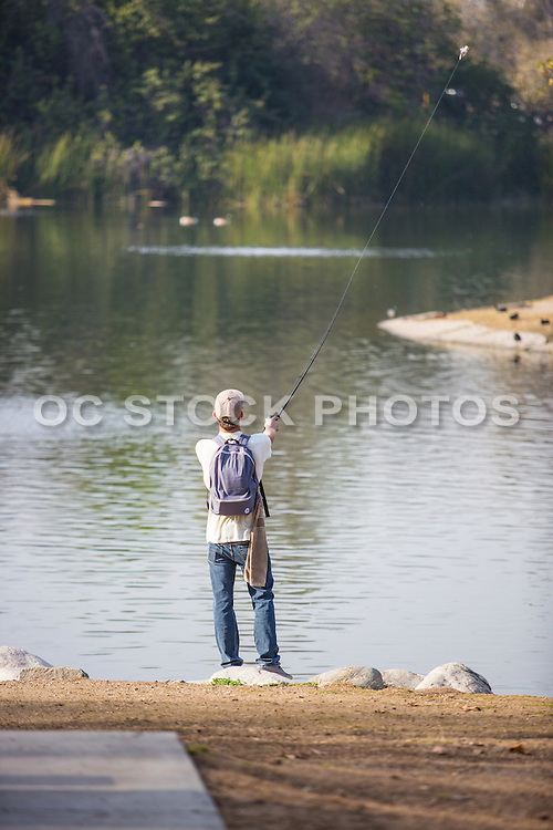 Fishing at Whittier Narrows Recreation Park
