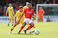 Swindon Town winger Keshi Anderson during the EFL Sky Bet League 2 match between Swindon Town and Morecambe at the County Ground, Swindon, England on 31 August 2019.