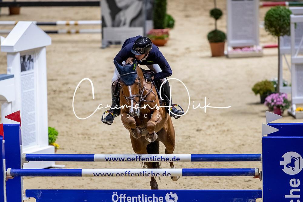 Hassmann Felix, GER, Horse Gym's Balzaci<br /> Grand Prix <br /> Braunschweig - Löwenclassics 2019<br /> © Hippo Foto - Stefan Lafrentz