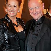 NLD/Amsterdam/20111017 - Premiere De Heineken Ontvoering, Marjolein Keuning en partner Henk Poort