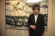 SAM KAPRIELOV. ' Le Rivage des Syrtes' Exhibition of work by Sam Kaprielov. Riflemaker Gallery. Beak St. Soho. London. 26 February 2007.  -DO NOT ARCHIVE-© Copyright Photograph by Dafydd Jones. 248 Clapham Rd. London SW9 0PZ. Tel 0207 820 0771. www.dafjones.com.