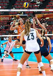 15-10-2018 JPN: World Championship Volleyball Women day 16, Nagoya<br /> Netherlands - USA 3-2 / Nicole Koolhaas #22 of Netherlands