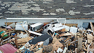 """Destruction from Hurricane Dorian in an area called """"The Mud"""" at Marsh Harbour in Great Abaco Island, Bahamas on Thursday, September 5, 2019"""