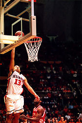 December 18, 2001: University of Illinois Fighting Illini basketball player Cory Bradford...This image was scanned from a print.  Image quality may vary.  Dust and other unwanted artifacts may exist.
