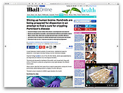 Daily Mail - Brain Bank photos and video