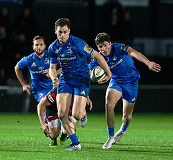 Conor O'Brien of Leinster<br /> <br /> Photographer Simon King/Replay Images<br /> <br /> Guinness PRO14 Round 10 - Dragons v Leinster - Saturday 1st December 2018 - Rodney Parade - Newport<br /> <br /> World Copyright © Replay Images . All rights reserved. info@replayimages.co.uk - http://replayimages.co.uk