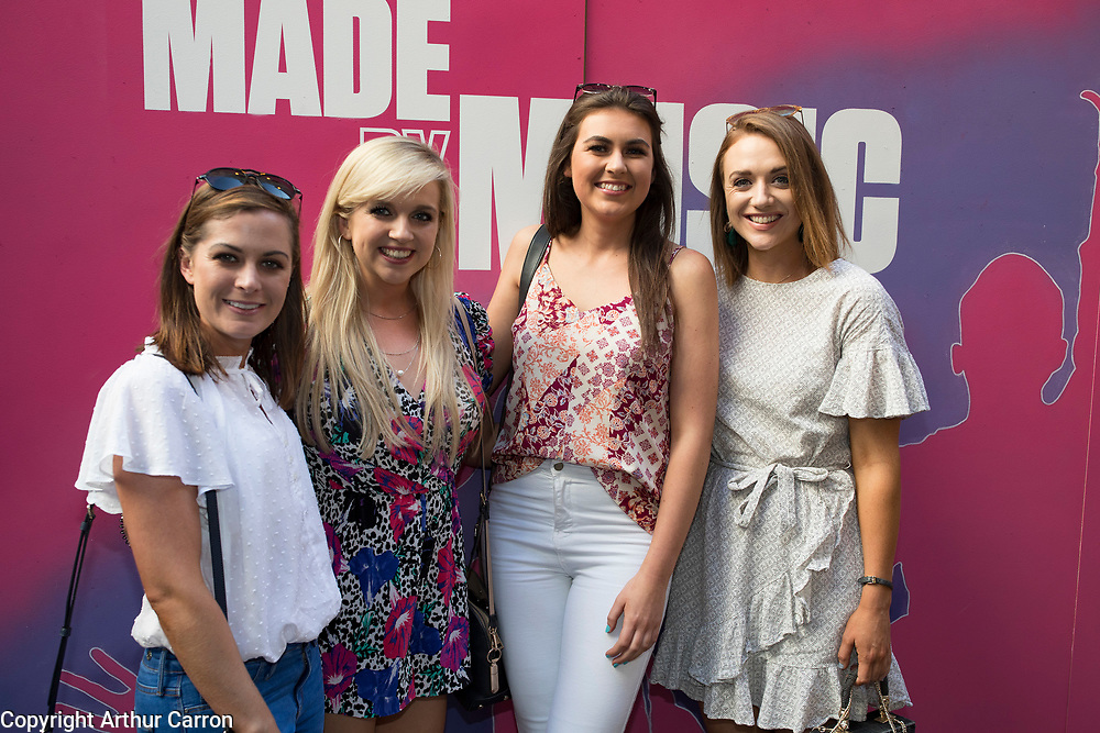26/6/19 Mallorie Ashe, Ciara Collins, Rachel Kennedy and Kathryn McManus, at the launch of the Black Bank Folks new album Last Star Fall, at Lost Lane, Dublin, available in store and online from June 28th. Picture: Arthur Carron