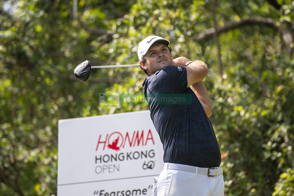 November 23, 2018 - Hong Kong, China - USA Golfer PATRICK REED tees off during round two of the 2018 Honma Hong Kong Open in Hong Kong, China.  (Credit Image: © Harry Wai/NurPhoto via ZUMA Press)
