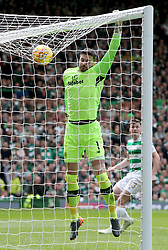 Celtic keeper Craig Gordon during the Ladbrokes Scottish Premiership match at Celtic Park, Glasgow. PRESS ASSOCIATION Photo. Picture date: Sunday April 29, 2018. See PA story SOCCER Celtic. Photo credit should read: Jane Barlow/PA Wire. RESTRICTIONS:  EDITORIAL USE ONLY