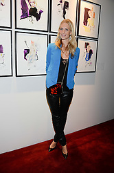 POPPY DELEVINGNE at a private view of fashion art by David Downton as in-house artist at Caridge's , held at Claridge's Hotel, London on 13th September 2013.