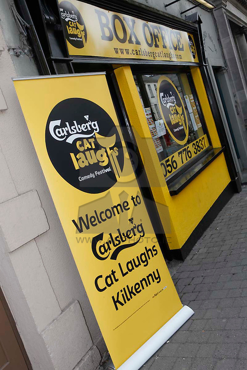 Pictured at the Carlsberg Kilkenny Cat Laughs 2010. Pic Andres Poveda