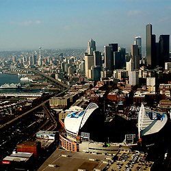 Seatle Seahawks opening day game at the Qwest Field &Skyline<br /> 09/26/04 vs. San Fransico 49ers