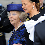 NLD/Amsterdam/20130430 - Inhuldiging Koning Willem - Alexander, princess Beatrix and sister in law princess Mabel Wisse Smit