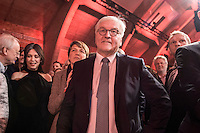 11 FEB 2017, BERLIN/GERMANY:<br /> Elke Buedenbender (L), Ehefrau von Steinmeier, Frank-Walter Steinmeier (R), SPD, Kandidat fuer das Amt des Bundespraesidenten, waehrend einem Empfang der SPD anl. der Bundesversammlung, Westhafen Event und Convention Center<br />  IMAGE: 20170211-03-039<br /> KEYWORDS: Elke Büdenbender
