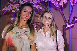 Carolina Bertoldi e Andressa Bitencourt na festa de inauguração do Viva Open Mall. FOTO: Dani Barcellos/ Agência Preview
