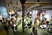 Nederland, Eindhoven, 25-10-2015De Dutch Design Week op Strijp.Reportage van de Awards-expositie en de beurs in het Klokgebouw.FOTO: FLIP FRANSSEN/ HH