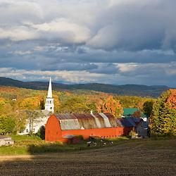 Peacham, Vermont. Fall.