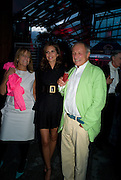 LADY RUTH ROGERS; DASHA ZHUKOVA; LORD RICHARD ROGERS, The Summer Party. Hosted by the Serpentine Gallery and CCC Moscow. Serpentine Gallery Pavilion designed by Frank Gehry. Kensington Gdns. London. 9 September 2008.  *** Local Caption *** -DO NOT ARCHIVE-© Copyright Photograph by Dafydd Jones. 248 Clapham Rd. London SW9 0PZ. Tel 0207 820 0771. www.dafjones.com.