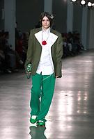 8ON8 presented by GQ, Catwalk show at  London Fashion Week Men's, Truman Brewery Brick Lane London. 05.01.20