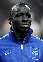 Football Fifa Brazil 2014 World Cup - Friendly Matchs 2013 -<br /> France vs Germany 1-2  ( Stade de France Stadium-Saint-Denis , France )<br /> Mamadou Sakho of France , during the Friendly Match between France and Germany
