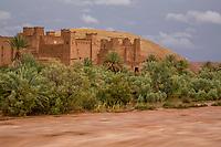 Flood Water at Ait Benhaddou, Morocco