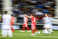 March 16, 2019 - Leganes, MADRID, SPAIN - Portu of Girona celebrates a goal during the spanish championship, La Liga, football match played between CD Leganes and Girona FC at Butarque Stadium in Leganes, Madrid, Spain, on March 16, 2019. (Credit Image: © AFP7 via ZUMA Wire)