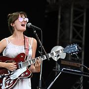 Ella Janes perform live at Kew The Music Festival 2018 on 15 July 20182018 at Kew garden, London, UK.