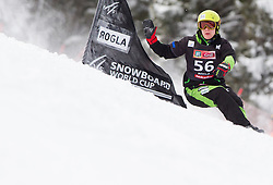 Crt Ikovic of Slovenia during Qualification Run of FIS Snowboard World Cup Rogla 2013 in Parallel Giant slalom, on February 8, 2013 in Rogla, Slovenia. (Photo By Vid Ponikvar / Sportida.com)