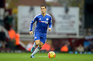 Eden Hazard of Chelsea in action. Barclays Premier League, West Ham Utd v Chelsea at The Boleyn Ground, Upton Park in London on Saturday 24th October 2015.<br /> pic by John Patrick Fletcher, Andrew Orchard sports photography.