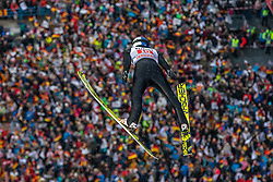 30.12.2018, Schattenbergschanze, Oberstdorf, GER, FIS Weltcup Skisprung, Vierschanzentournee, Oberstdorf, Probesprung, im Bild Andreas Wellinger (GER) // Andreas Wellinger of Germany during his Trial Jump for the Four Hills Tournament of FIS Ski Jumping World Cup at the Schattenbergschanze in Oberstdorf, Germany on 2018/12/30. EXPA Pictures © 2018, PhotoCredit: EXPA/ Peter Rinderer