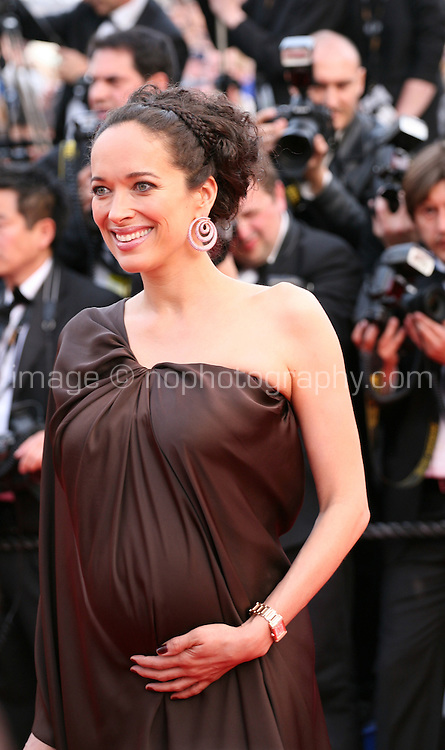 Carmen Chaplin at the gala screening of the film De rouille et d'os at the 65th Cannes Film Festival. Thursday 17th May 2012, the red carpet at Palais Des Festivals in Cannes, France.