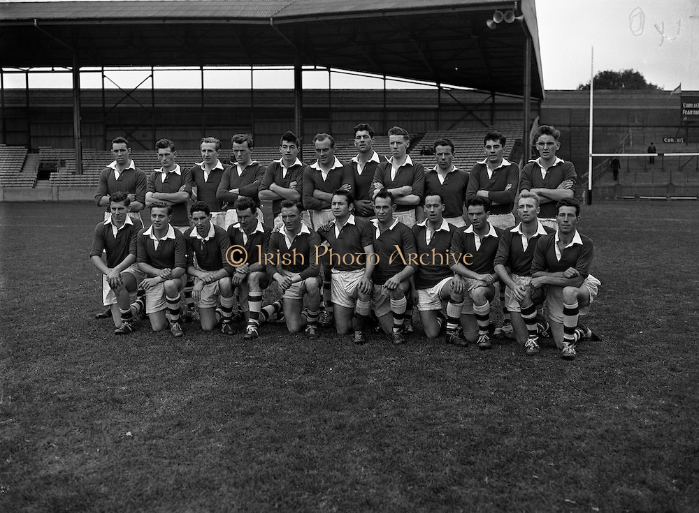 """Victorious Fermanagh Team Junior Home Final - Fermanagh vs. Kerry<br /> 20/09/1959<br /> <br /> Fermanagh played and defeated Kerry in the home final on 20 September 1959 in Croke Park. Things were close initially and Kerry made a strong comeback in the second half but the Fermanagh team dug in and won on a score line of 1-13 to 2-3. As a result of winning this home final, Fermanagh then progressed onto what was then known as the """"The Final"""". """"The 'Final"""" was played in New Etham Stadium in London on Sunday 11 October 1959 and the opposition was the British Senior Champions London. The opening half was very close with the teams level at half time and although London scored a late goal Fermanagh were not to be denied their moment of history, Fermanagh 1-11, London 2-4. <br />The Fermanagh team returned home the following Tuesday and they were met on the Monaghan/ Fermanagh border at Clontivrin. They paraded through Newtownbutler and Lisnaskea and then in Enniskillen over 10,000 people met them. <br />The Fermanagh panel on that historic day was:<br />J.J. Treacy Devenish, P.T. Treacy Devenish, P. O'Loughlin Devenish, J. O'Neill Lisnaskea, O. Callaghan Roslea, Fr. I. McQuillan Newtownbutler, J. Collins Lisnaskea, J. Cassidy Teemore, L. McMahon Aghadrumsee, J. Maguire Belcoo, M. Brewster Enniskillen, D. O'Rourke Roslea, K. Sreenan Lisnaskea, F. McGurn Bellanaleck, O. Clerkin Roslea and D. Devanney Irvinestown, H. Murphy Derrylin,  J. Bartley Bellanaleck, J.P. Prunty Roslea, P. Breen Tempo, E. Courtney Lisnaskea, J. Goodwin Roslea, H. Flanagan Derrygonnelly and J. O'Keefe Newtownbutler. April 1986 St Catherine's Church, Tinkers Camp, Finglas, Building on Quays near Bridge St, Monkstown Castle, Gypsy Style Caravan Near Lucan, Thomas St, near old fire station, The Clock Pub Thomas St,"""