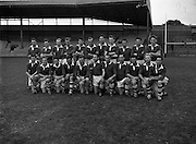 """Victorious Fermanagh Team Junior Home Final - Fermanagh vs. Kerry<br /> 20/09/1959<br /> <br /> Fermanagh played and defeated Kerry in the home final on 20 September 1959 in Croke Park. Things were close initially and Kerry made a strong comeback in the second half but the Fermanagh team dug in and won on a score line of 1-13 to 2-3. As a result of winning this home final, Fermanagh then progressed onto what was then known as the """"The Final"""". """"The 'Final"""" was played in New Etham Stadium in London on Sunday 11 October 1959 and the opposition was the British Senior Champions London. The opening half was very close with the teams level at half time and although London scored a late goal Fermanagh were not to be denied their moment of history, Fermanagh 1-11, London 2-4. <br />The Fermanagh team returned home the following Tuesday and they were met on the Monaghan/ Fermanagh border at Clontivrin. They paraded through Newtownbutler and Lisnaskea and then in Enniskillen over 10,000 people met them. <br />The Fermanagh panel on that historic day was:<br />J.J. Treacy Devenish, P.T. Treacy Devenish, P. O'Loughlin Devenish, J. O'Neill Lisnaskea, O. Callaghan Roslea, Fr. I. McQuillan Newtownbutler, J. Collins Lisnaskea, J. Cassidy Teemore, L. McMahon Aghadrumsee, J. Maguire Belcoo, M. Brewster Enniskillen, D. O'Rourke Roslea, K. Sreenan Lisnaskea, F. McGurn Bellanaleck, O. Clerkin Roslea and D. Devanney Irvinestown, H. Murphy Derrylin,  J. Bartley Bellanaleck, J.P. Prunty Roslea, P. Breen Tempo, E. Courtney Lisnaskea, J. Goodwin Roslea, H. Flanagan Derrygonnelly and J. O'Keefe Newtownbutler."""