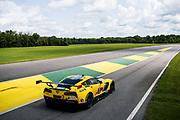 August 17-19 2018: IMSA Weathertech Michelin GT Challenge at VIR. 3 Corvette Racing, Corvette C7.R, Jan Magnussen, Antonio Garcia