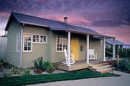 Guest cottages at The Carneros Inn, Carneros Region, Napa County, California