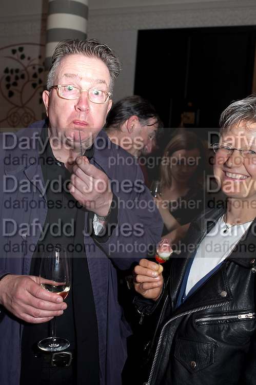 TOM ROBINSON, Massimo's restaurant at the Corinthia Hotel, Whitehall  host the after party  for 'Claire Rayner's benefit show' 5 June 2011. <br /> <br />  , -DO NOT ARCHIVE-© Copyright Photograph by Dafydd Jones. 248 Clapham Rd. London SW9 0PZ. Tel 0207 820 0771. www.dafjones.com.