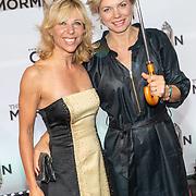 NLD/Amsterdam//20191003 - Première The Book of Mormda,. , Claudia de Breie met partner Jessica