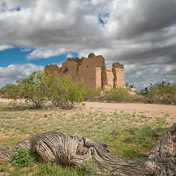 Casa Grande Indian Ruin with out roof!