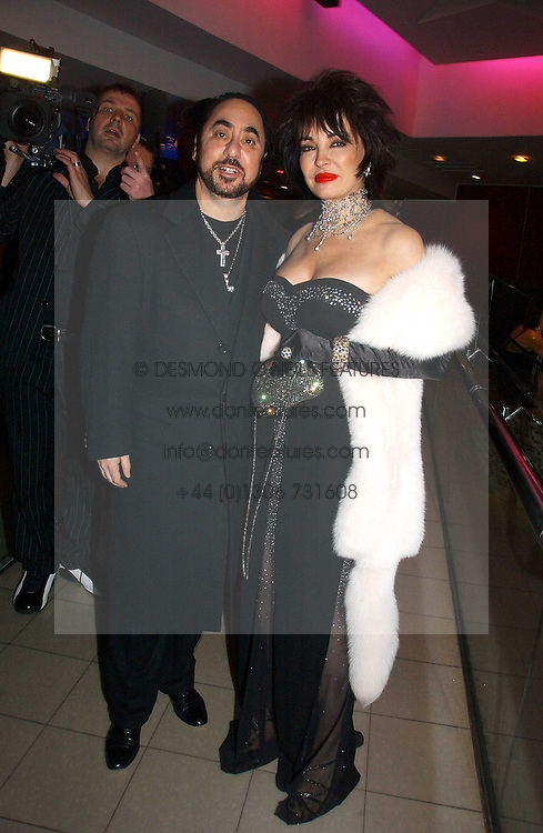 DAVID GUEST and CHERYL HOWARD at Andy & Patti Wong's annual Chinese New year Party, this year to celebrate the Year of The Pig, held at Madame Tussauds, Marylebone Road, London on 27th January 2007.<br /><br />NON EXCLUSIVE - WORLD RIGHTS