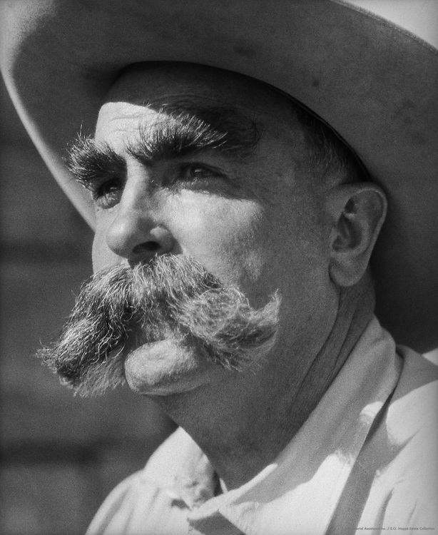 Types (man with mustache), USA, 1926