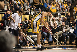 November 12, 2017 - Turin, Piemonte/Torino, Italy - Sasha Vujacic (Fiat Torino Auxilium) during the Basketball match, Serie A: Fiat Torino Auxilium vs Vanoli Cremona. Torino wins 88-80 at Pala Ruffini in Turin 12th november 2017 Photo by Alberto Gandolfo/Pacific Press) (Credit Image: © Alberto Gandolfo/Pacific Press via ZUMA Wire)