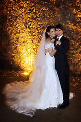 FILE PHOTO - The Hollywood couple once referred to as ''Tomkat'' is splitting up. Tom Cruise and Katie Holmes wed in 2006 and have a six-year-old daughter. Pictured: Nov. 18, 2006 - Bracciano, ITALY - It is official - TOMKAT are hitched! Actor TOM CRUISE the groom and actress KATIE HOLMES the bride, in her Armani wedding dress, pose for their official wedding picture at the 15th-century Odescalchi Castle overlooking Lake Bracciano outside of Rome. (Credit Image: © Robert Evans-Official Photo/ZUMAPRESS.com)