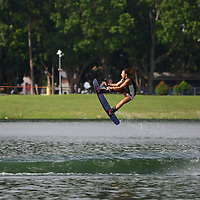 Bedok Reservoir, Sunday, September 8, 2013 — Guy Tanaka of Japan pulled off an extremely technical run in the final, fending off former SEA Games gold medallist Padiwat Jaemjan of Thailand, to clinch first place in the Men's Open at the 2013 Wakefest Singapore.<br /> <br /> Story: http://www.redsports.sg/2013/09/14/wakefest-singapore-2013-guy-tanaka-wakeboarding/